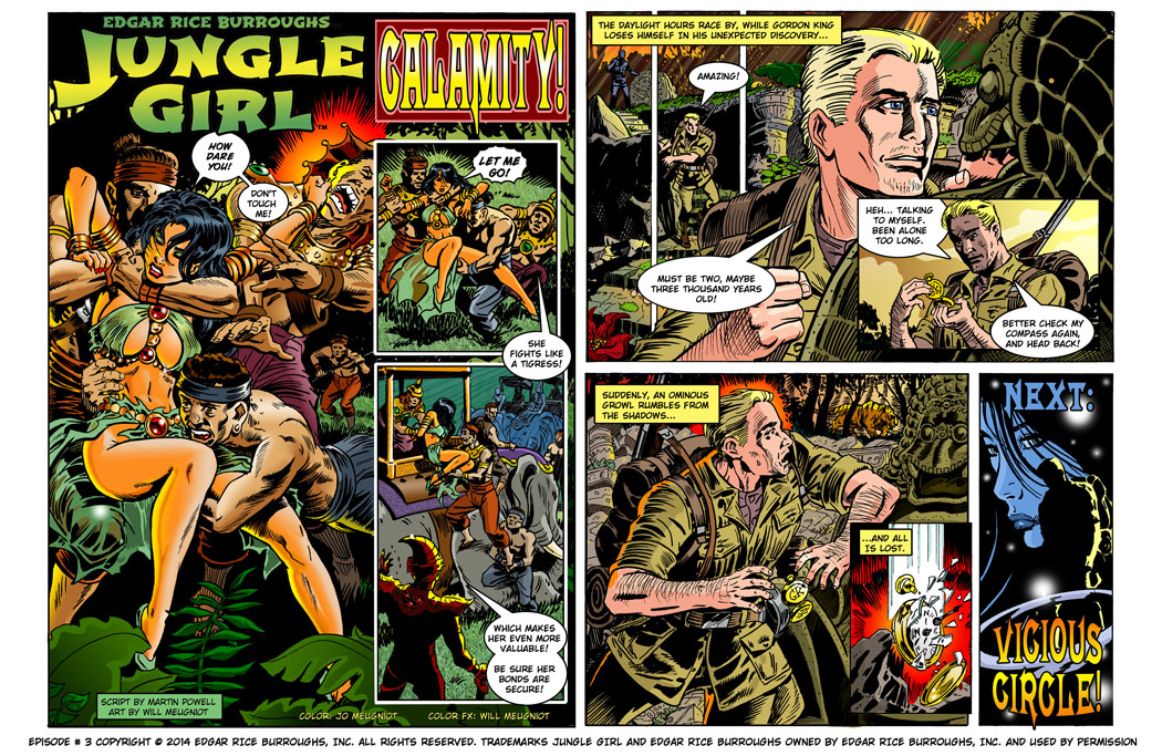 Comic strip subscription