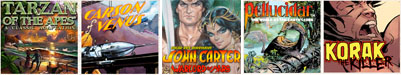 New Tarzan Comic Strip Subscription