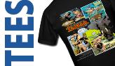 Comic Tee Shirts
