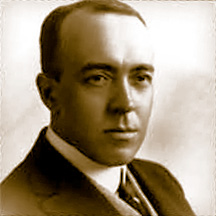 Edgar Rice Burroughs Author Portrait