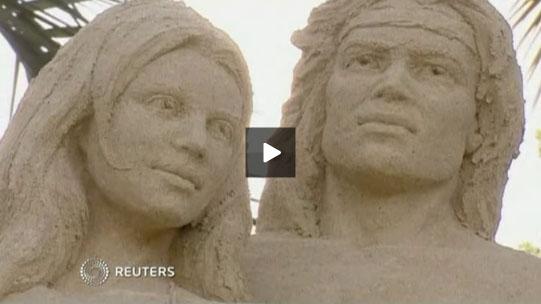 tarzan-jane-sandsculptures-video