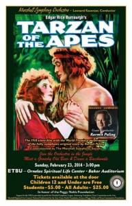 tarzan of the apes premieres in marshall