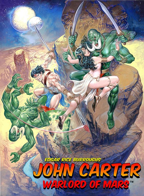 Edgar Rice Burroughs John Carter Warlord Of Mars Returns To The