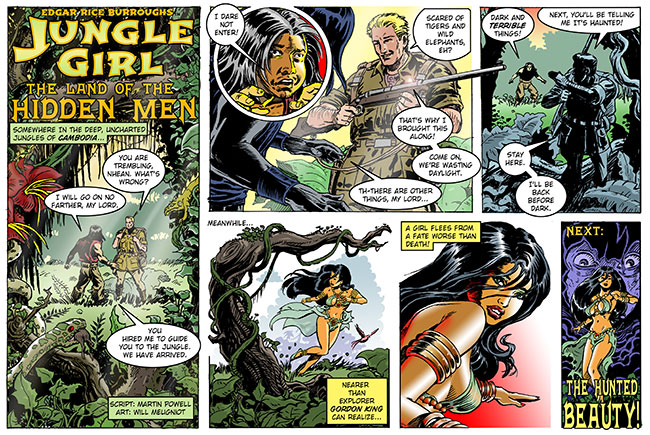 jungle girl webcomic