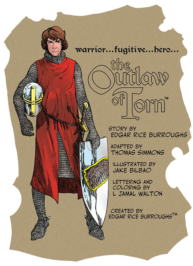 Launching all new web comic – The Outlaw of Torn – in English and Spanish3