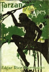 tarzan of the apes book cover