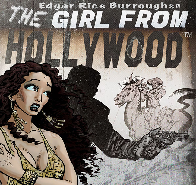 the girl from hollywood digital comic